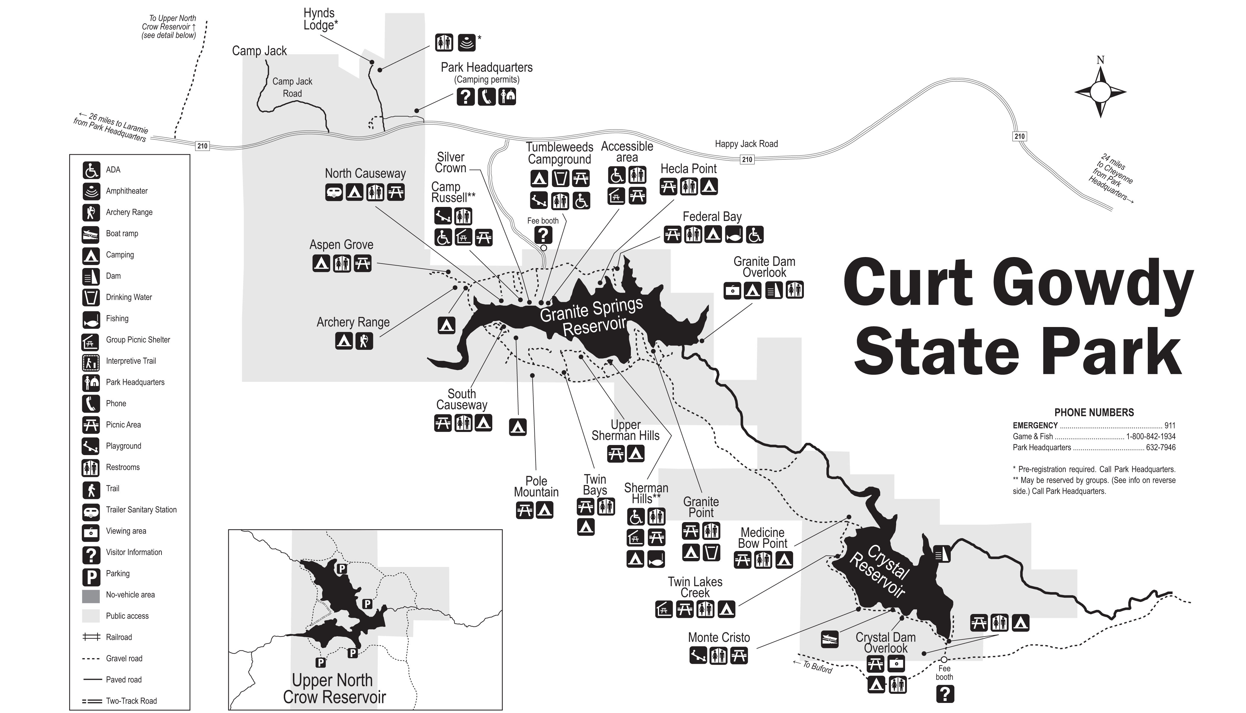 Curt gowdy state park further Hundreds in new castle county  delaware also Pymatuning township  mercer county  pennsylvania moreover Roswell New Mexico Map as well  on map of the usa google