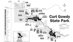 Curt Gowdy State Park Map