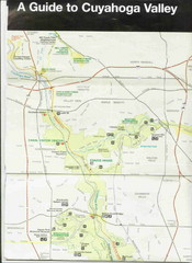 Cuyhoga National Park Map