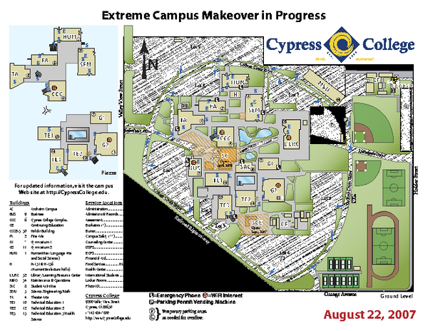 Palomar San Marcos Campus Map.Real Life Map Collection Mappery