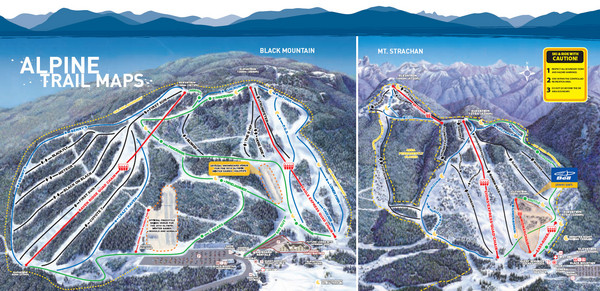 Cypress Mountain Ski Trail Map