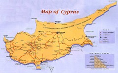 Cyprus Guide Map