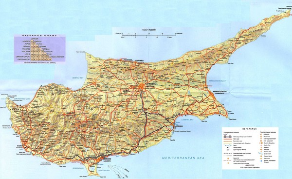 Cyprus island map cyprus mappery fullsize cyprus island map gumiabroncs Image collections