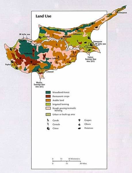 Cyprus Land Use Map