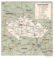 Czech Republic Map