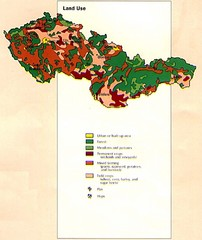Czechoslovakia Land Use Map