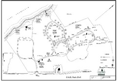 D.A.R. State Park map
