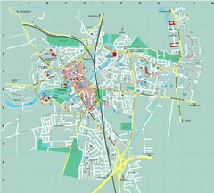 Dachau City Map
