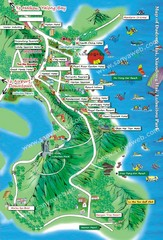 Dadonghai Beach, Sanya Tourist Map