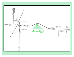 Daingerfield, Texas State Park Map