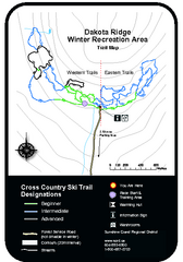 Dakota Ridge Ski Trail Map