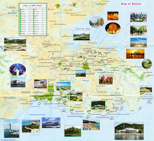 real life map collection mappery – Seoul Tourist Attractions Map