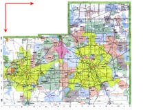 Dallas/ Fort Worth Map