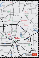 Dallas-Fort Worth Metropolitan Area Map