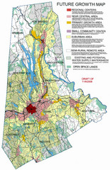 Danbury Regional Growth Map