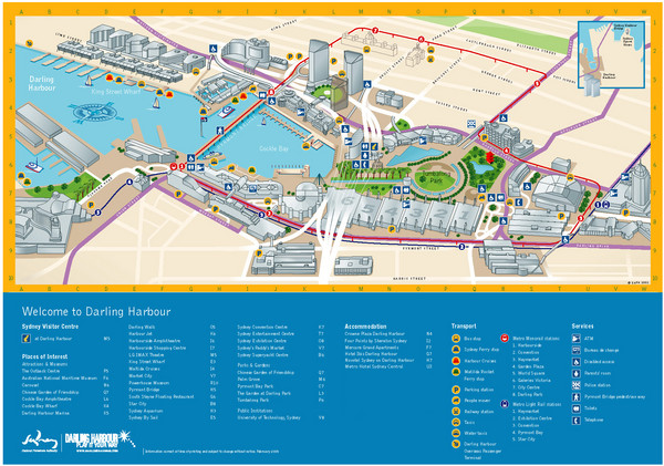 Sydney maps mappery – Sydney Tourist Map