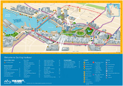 Darling Harbour Map