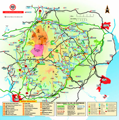 Dartmoor National Park Map