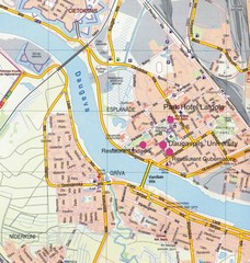 Daugavpils Tourist Map