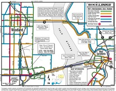 Davis, California BIke Map
