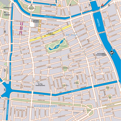De Pijp Neighborhood Map