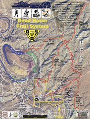 Dead Horse Trail System Map