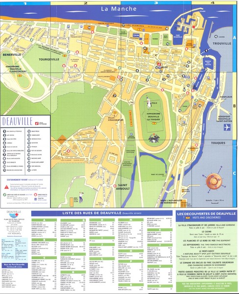 Deauville Map