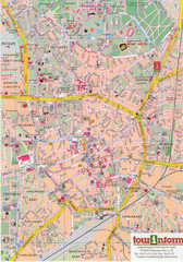 Debrecen Tourist Map