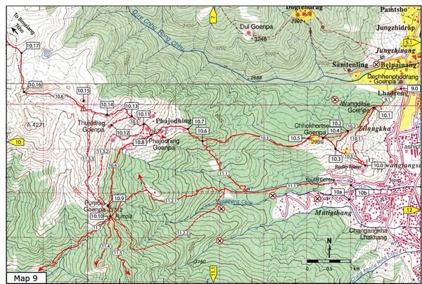 Thimphu maps mappery