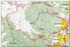 Dechenphu Valley, Thimphu Map