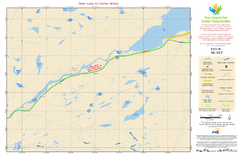 Deer Lake to Corner Brook NL-013 Map