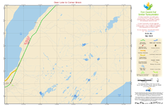 Deer Lake to Corner Brook NL-014 Map