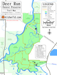 Deer Run Forest Preserve Map