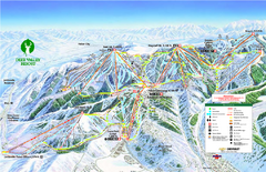 Deer Valley Ski Trail Map
