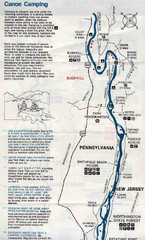Deleware River Boat Map