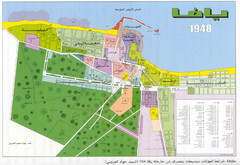 Detailed Map Of Jaffa Before Nakba