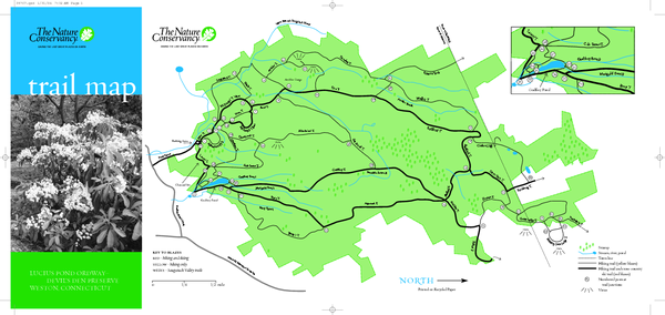 Devil's Den Preserve Map