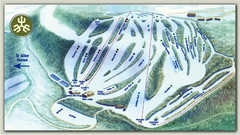 Devils Glen Ski Trail Map