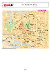 Dhaka City Map