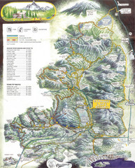 Diamond Lake Tourist Map