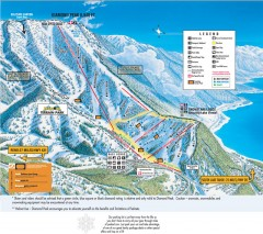 Diamond Peak Ski Trail Map