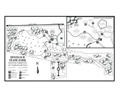 dinosaur provincial park map pdf