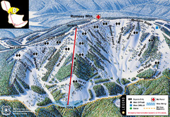 Discovery Basin Ski Area B Ski Trail Map