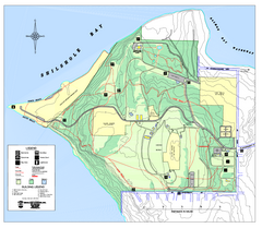Discovery Park trail map