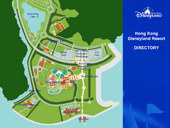 Disney Land Hong Kong Park Map