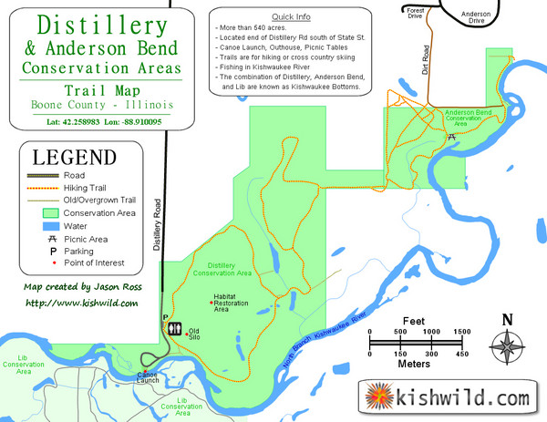 Distillery Conservation Area Map Belvidere Il Mappery