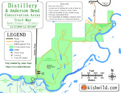 Distillery Conservation Area Map
