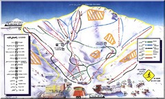Dizin Ski Trail Map