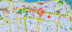 Dnepropetrovsk Downtown Map