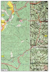 Dochula to Lungchuzekha Gonpa trail map 1